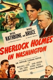 Poster Sherlock Holmes in Washington 1943