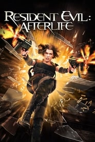 Poster for the movie, 'Resident Evil: Afterlife'