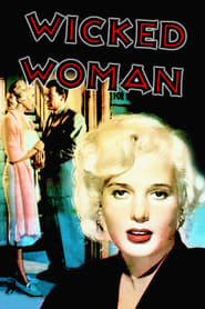 Poster Wicked Woman 1953