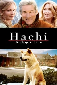 Poster for Hachi: A Dog's Tale