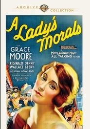 Poster A Lady's Morals 1930