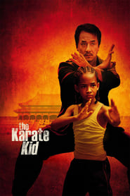 Poster for the movie, 'The Karate Kid'