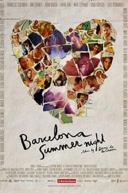 Poster Barcelona Summer Night 2013