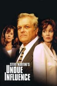 Poster Undue Influence 1996