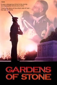 Poster Gardens of Stone 1987