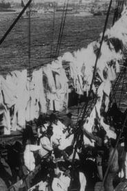 À bord du 'Formidable': Ramassage du linge