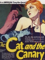 The Cat and the Canary plakat