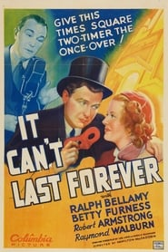 It Can't Last Forever 1937