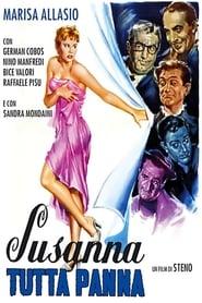 Poster Susanna tutta panna 1957