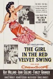 Poster The Girl in the Red Velvet Swing 1955