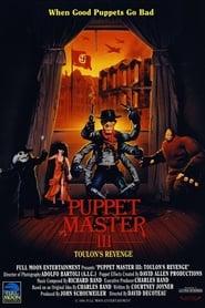 Poster for Puppet Master III: Toulon's Revenge