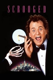 Poster for Scrooged