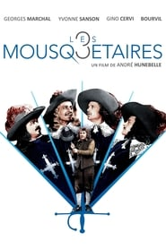 Poster The Three Musketeers 1953