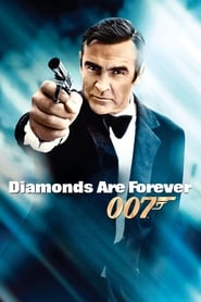 Poster Diamonds Are Forever 1971