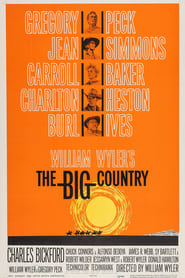 Poster The Big Country 1958