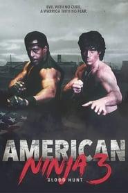 Poster American Ninja 3: Blood Hunt 1989