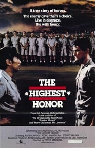 Poster The Highest Honor 1982