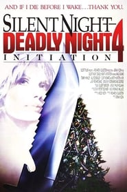 Poster Silent Night Deadly Night 4: Initiation 1990