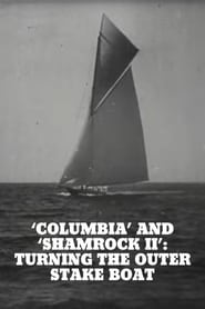 'Columbia' and 'Shamrock II': Turning the Outer Stake Boat