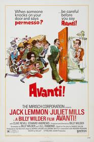 Poster Avanti! 1972