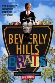 Poster Beverly Hills Brats 1989