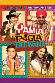 Yamla Pagla Deewana 2011 Hindi Movie BluRay 400mb 480p 1.3GB 720p 4GB 12GB 14GB 1080p