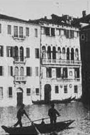 Venise, arrivée en gondole 1896