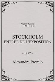 Stockholm, entrée de l'exposition