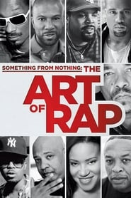 Poster Something from Nothing: The Art of Rap 2012
