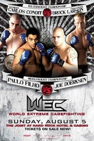 Poster WEC 29: Condit vs. Larson 2007