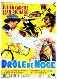 Poster DROLE DE NOCE 1952