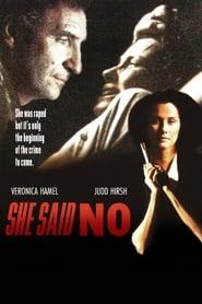 Poster She Said No 1990