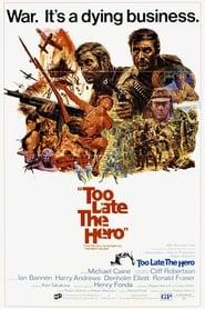 Poster Too Late the Hero 1970