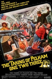 Poster The Taking of Pelham One Two Three 1974