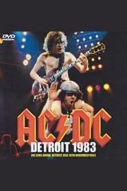 AC/DC  Joe Louis Arena Detroit USA November 18 1983 1983