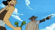 Usopp vs. Daddy the Parent! Showdown at High!