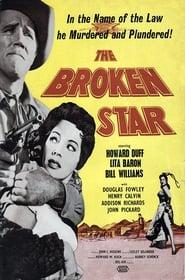 Poster The Broken Star 1956