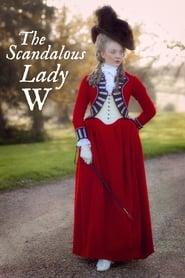 Poster The Scandalous Lady W 2015