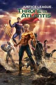 Poster Justice League: Throne of Atlantis 2015