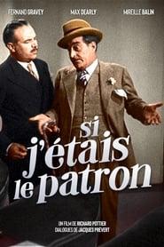 Si j'étais le patron (1934)