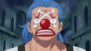 One Piece Season 13 Episode 445 : The Dangerous Encounter! Blackbeard and Shiryu of the Rain!