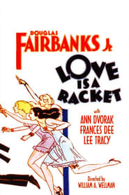 Poster Love Is a Racket 1932