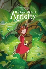 Poster for the movie, 'Arrietty'