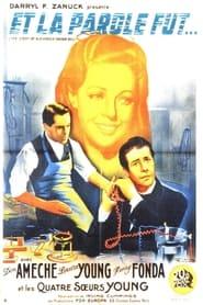 Et La Parole Fut… 1939