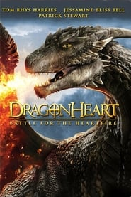 DVD cover image for Dragonheart : battle for the heartfire