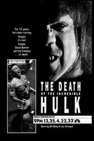 Poster The Death of the Incredible Hulk 1991