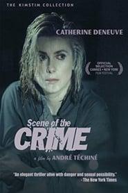 Poster Scene of the Crime 1986