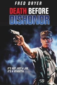Poster Death Before Dishonor 1987