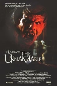 Poster for The Unnamable