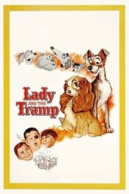 Poster Lady and the Tramp 1955